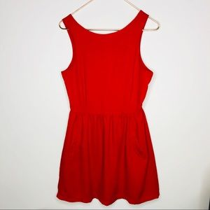 Red Cocktail Dress (S)